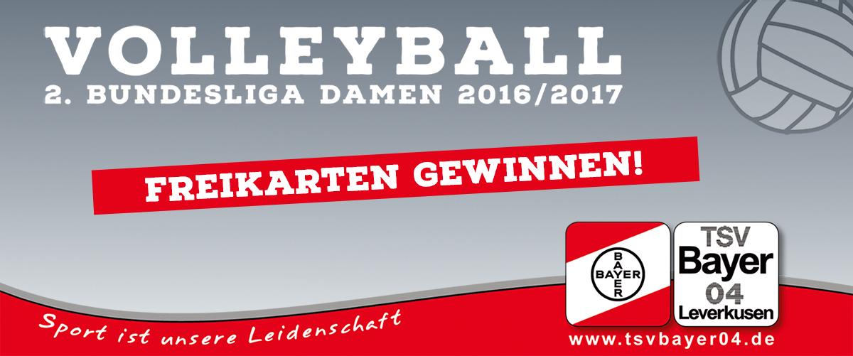 Freikarten für das erste Heimspiel gewinnen! - TSV Bayer 04 ...